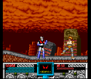 Screenshot Thumbnail / Media File 1 for Mazinger Z (Japan) [7144]